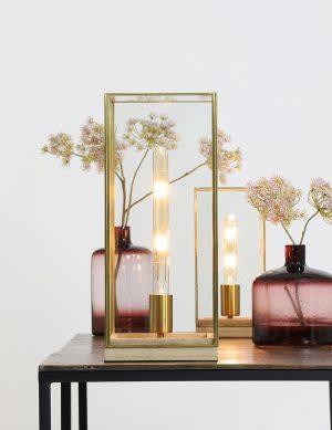 Lampe de table en cage dorée Light & Living Askjer-1941GO