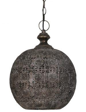 Suspension orientale Light & Living Ananya acier antique-2025B