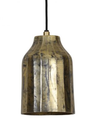Plafonnier style industriel Light & Living Cheyda or-2034GO