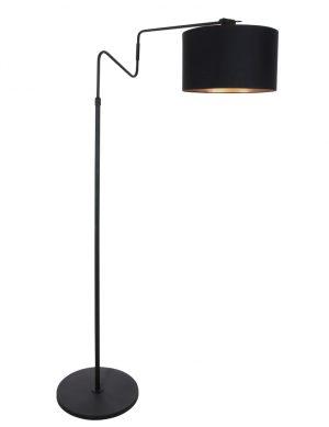 Lampadaire avec abat-jour Anne Lighting Linstrøm noir-2132ZW
