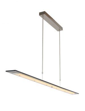 Suspension en verre fumé Steinhauer Plato LED-2430ST