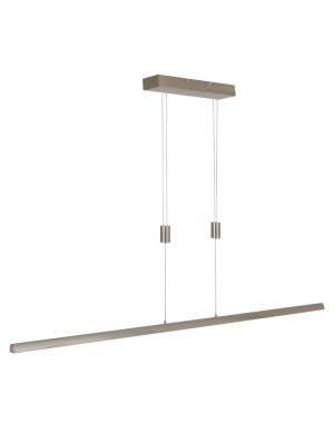 Suspension barre LED Steinhauer Litho acier-2433ST