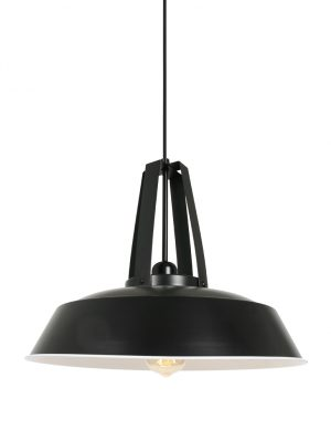 Suspension style industriel James Mexlite noir-2481ZW