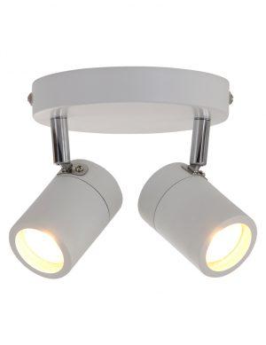 Spot LED à deux lumières Steinhauer Upround blanc-2487W