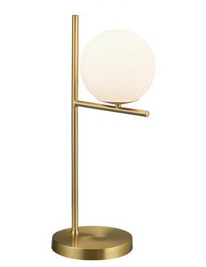 Lampe de table avec boule de verre Trio Leuchten Pure or-2644ME