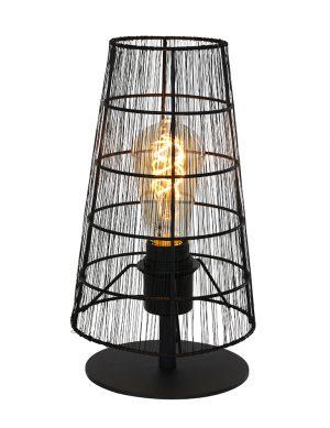 Lampe d'ambiance Wire Lamp Steinhauer Gaze noir-2678ZW