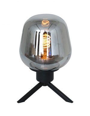 Lampe de table trépied en verre Steinhauer Reflexion noir-2683ZW