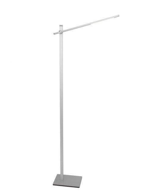 Lampadaire LED Stekk Mexlite couleur acier-2690ST