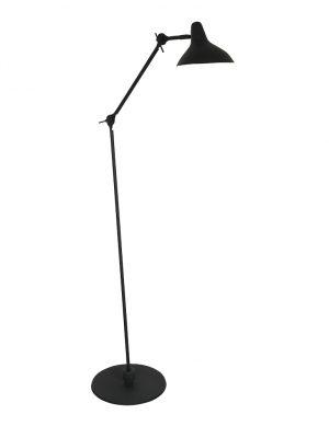 Lampadaire rétro Kasket Anne Lighting noir-2691ZW