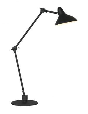 Lampe de bureau rétro Kasket Anne Lighting noir-2692ZW