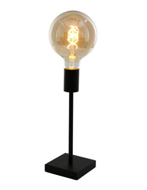 Lampe de table minimaliste Mexlite Minimalics noir mat-2702ZW