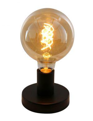 Lampe de table courte Mexlite Minimalics noir mat-2703ZW