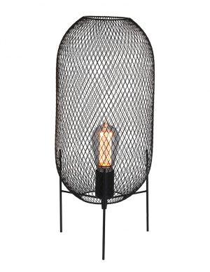 Lampe à poser en maille Bodine Mexlite noir-2707ZW