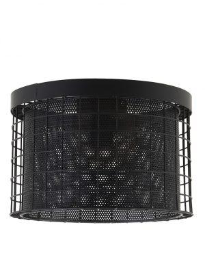 Plafonnier cage Light & Living Digo noir-2754ZW