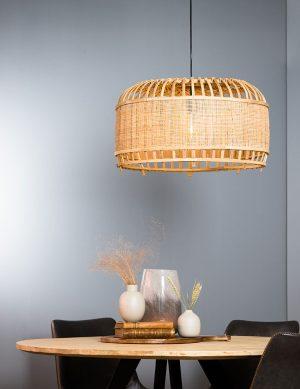 Suspension en rotin Light & Living Dalika beige-2791BE