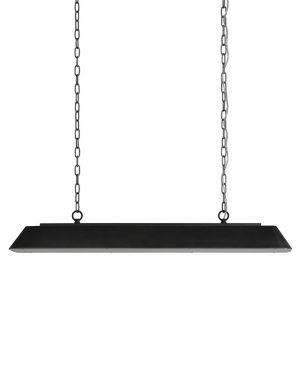 Suspension style industriel Stef Light & Living noir-2825ZW