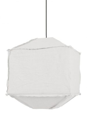 Suspension en tissu Titant Light & Living blanc-2827W