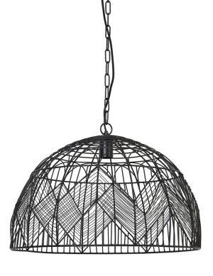 Suspension fils métalliques et motifs Kalibo Light & Living noir-2859ZW