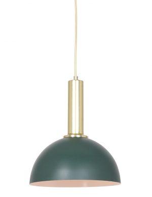 Suspension rétro Boste Light & Living vert et or-2861ZW