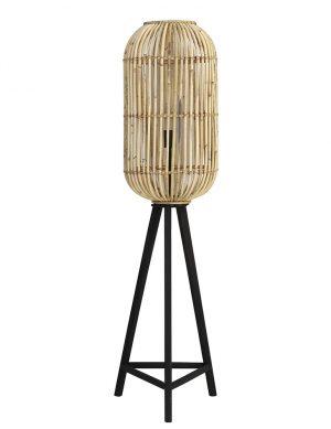 Lampadaire en rotin Tibana Light & Living marron-2882BE