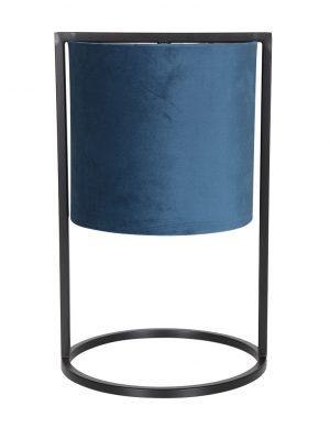 Lampe à poser avec abat-jour Light & Living bleu pétrole-2896BL
