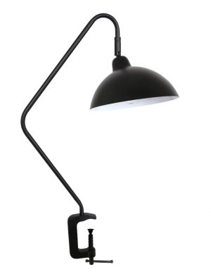 Lampe avec accroche pince Orion Light & Living noir-2901ZW