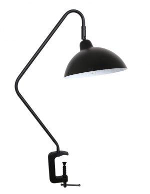 Lampe avec accroche pince Orion Light & Living noir-2901ZW