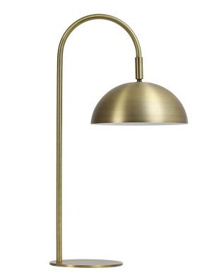 Lampe à poser courbée Jupiter Light & Living or-2902GO