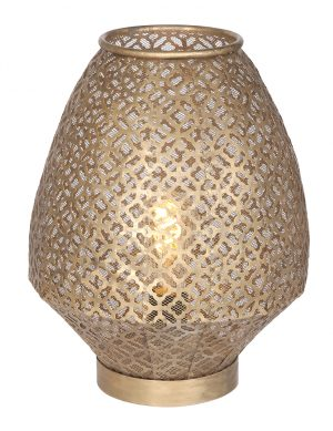 Lampe à poser style oriental Slena Light & Living or-2906BR