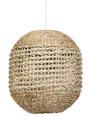 Suspension ouverte en rotin Tripoli Light & Living blanc-2934BE