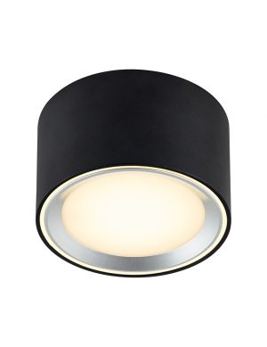 Spot LED pour salle de bain Fallon Nordlux noir-3034ZW