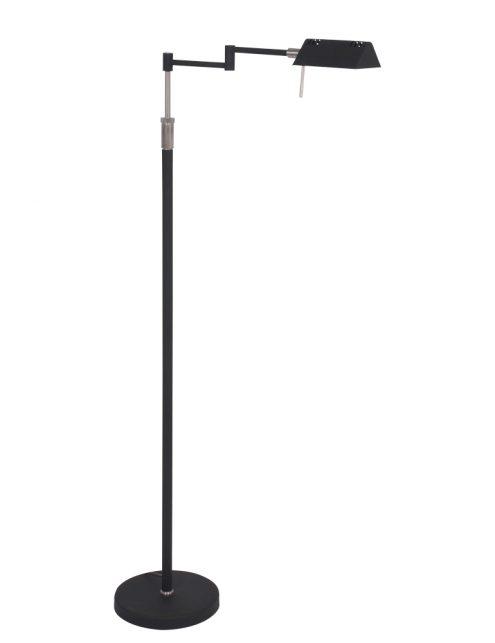 Lampadaire de lecture noir LED Mexlite Karl-5895ZW