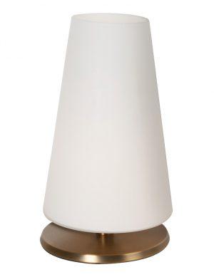 Lampe de table tactile conique Steinhauer Ancilla couleur bronze-6934BR