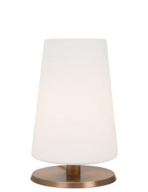 Lampe de table tactile Tailleur de pierre Ancilla couleur bronze-7504BR