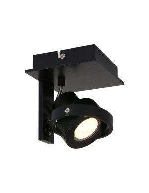 Applique à LED design Steinhauer West Point couleur noire-7549ZW
