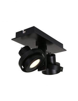 Applique double spots Steinhauer West Point couleur noire-7550ZW