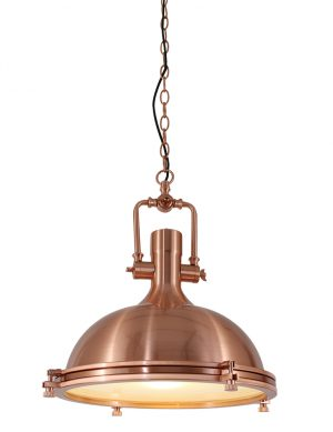 Suspension en cuivre au look authentique Mexlite Eliga-7636KO