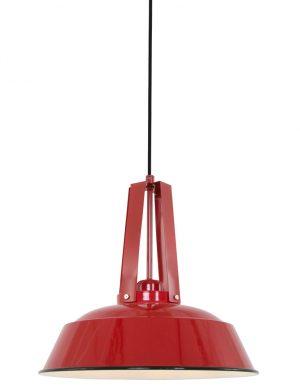Lampe à suspension rouge Mexlite Luna-7704RO