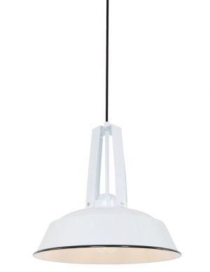 Suspension industrielle moderne Mexlite Luna blanc-7704W