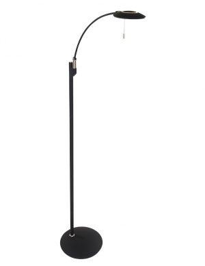 Lampadaire de lecture moderne à LED Steinhauer Zenith couleur noire-7862ZW