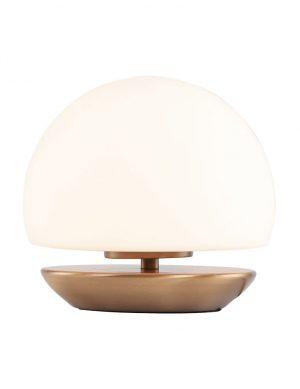 Lampe de table sphérique à LED Steinhauer Ancilla couleur bronze-7932BR