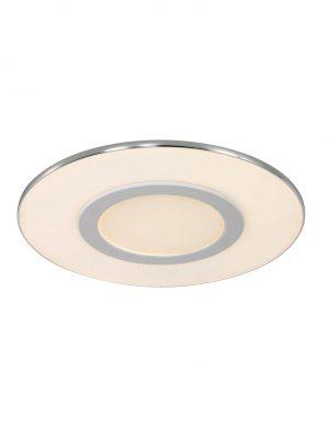 Plafonnier rond design à LED Steinhauer couleur blanche-7947W