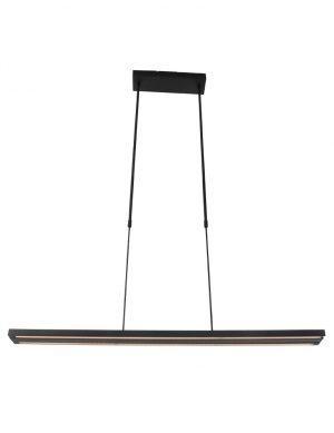 Lampe à suspension extensible noire Zelena de Steinhauer-7970ZW