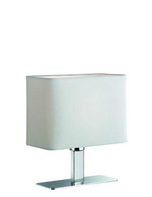 Lampe de chevet moderne Reality Ming blanc