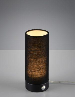 Lampe de table cylindrique Reality Emir noir