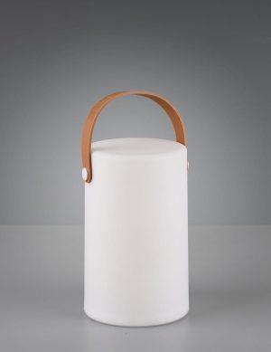 Lampe de table d'extérieur LED Reality Aruba blanc