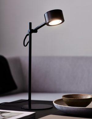 Lampe de bureau LED ajustable Clyde Nordlux noir