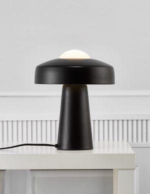 Lampe à poser champignon Time Nordlux noir