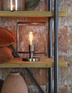 Lampe de table en acier brut-1946ST