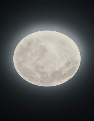Plafonnier lune évolutif-2514W
